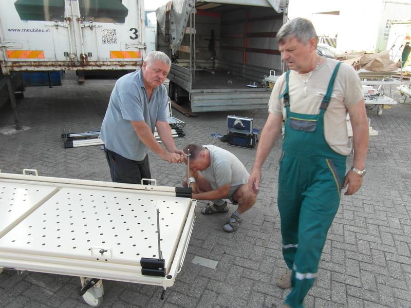 Oirschot - demontage voor vervoer